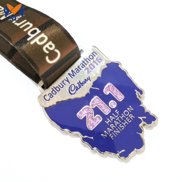 Order make own custom enamel metal medal