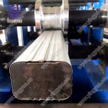 Steel downpipe roll former making machine