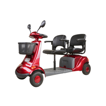 Luxury Mobility front and rear seat scooter