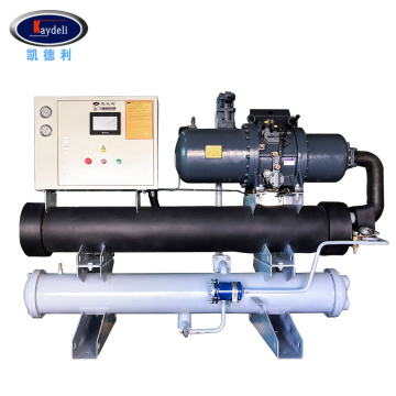 40HP Water cooled screw chiller