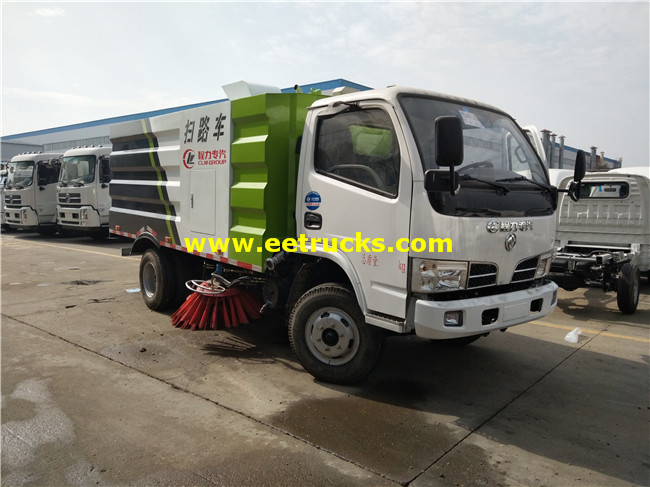4x2 Vacuum Sweeper Vehicles