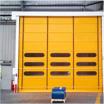 ປັ໊ມ PVC Fast Fold Up Roller Shutter Door