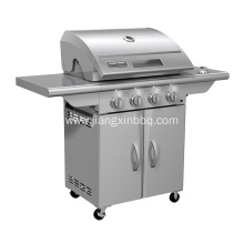 Best Quality for Propane BBQ Stainless Steel 4 Burners Propane Gas BBQ export to Poland Importers