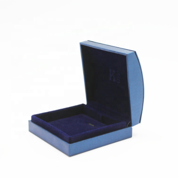 Custom Blue Paper Single Pendant Box