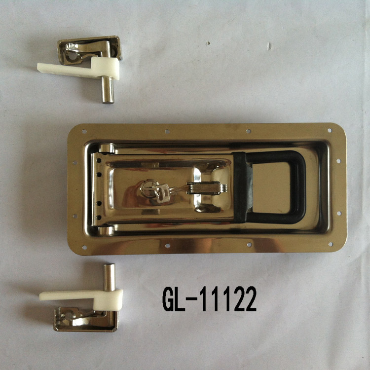 Semi Trailer Recessed Door Handle Lock With Keys