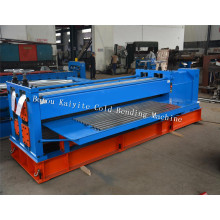 Wholesale Price for Water Wave Roof Panel Roll Forming Machine 4m Barrel Type Corrugated Sheet Forming Machine supply to Micronesia Factories