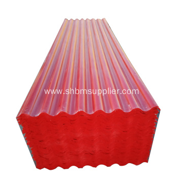 No-Formaldehyde Anti-Moth Heatproof MgO Roof Sheets