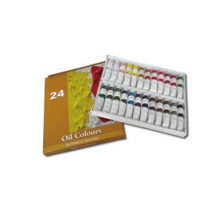 24 Colors Oil Paint set