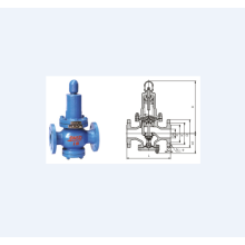 Spring Piston Type Pressure Reducing Valve