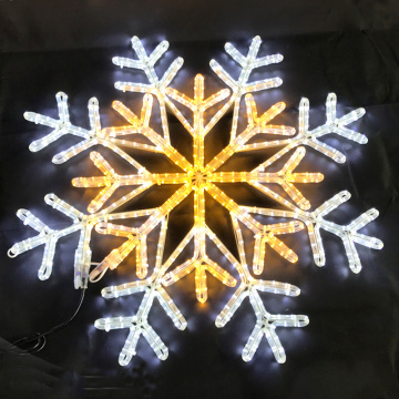Christmas large decorations led snowflake light