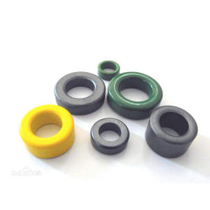 Round Shape Soft Ferrite Magnetic Ring Core