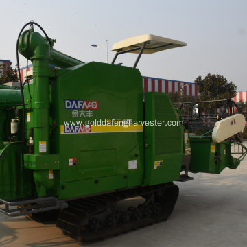high ground clearance longer threshing drum rice harvesting