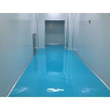 Clean room epoxy mortar anti-static floor paint