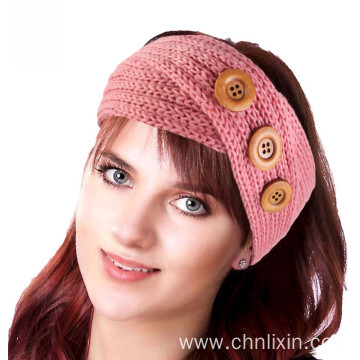 Hair accessories bandanas turban cap knitting headwrap