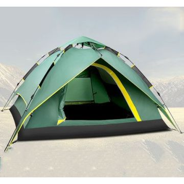 3-4 person automatic one room camping tents