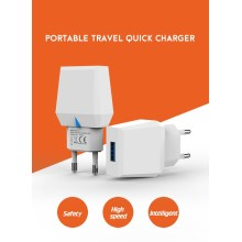 Mobile Phone Charger 12W USB Charger