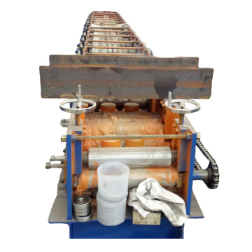 high quality automatic cuz purlin roll forming machine
