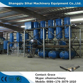 Waste Tire Oil Vacuum Distillation Plant