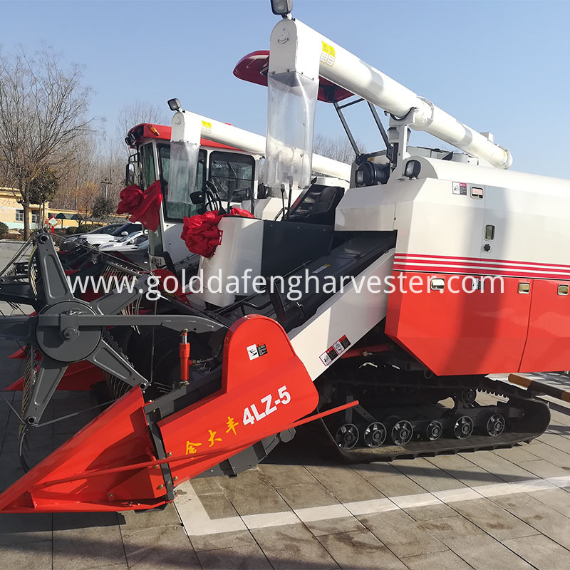 Good performance crawler type rice combine harvester