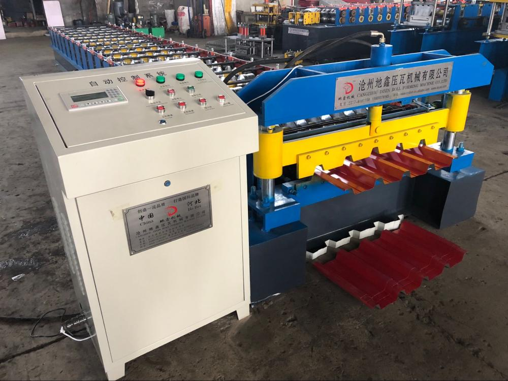 Ibr metal profile roof panel roll forming machine
