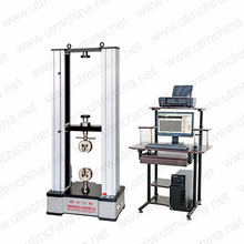 Tensile traction testing machine