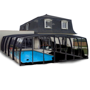 Enclosure Retractable Hot Tub Cover