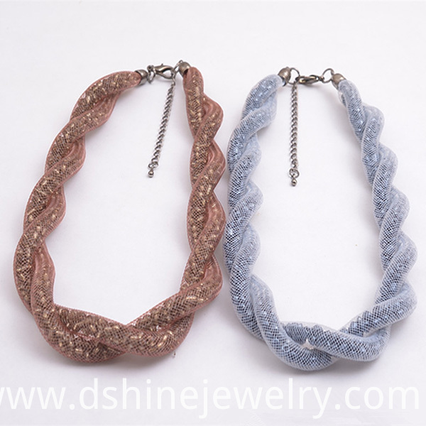 Crystal Beads Collar Necklace