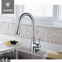 Deck Mounted Vessel Kitchen Tap Faucet With Sprayer