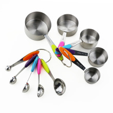 Good Quality for China Measuring Cups,Spoons Set,Plastic Measuring Cups Manufacturer 10PCS Stainless Steel Measuring Cup and Spoon Set export to Russian Federation Supplier