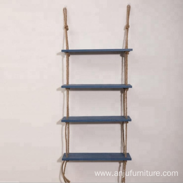 Home Decoration Hanging 2 3 Tiers Swing wood wall rack