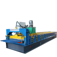 High efficiency corrugated roof sheet making machine
