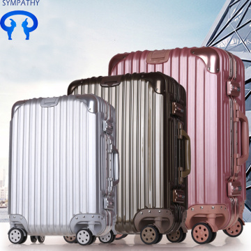 Boarding box PC portable lever box universal wheel