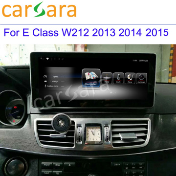 China OEM for Mercedes-Benz Car Multimedia 2+16G Multimedia Screen for Mercedes W212 supply to Zimbabwe Supplier