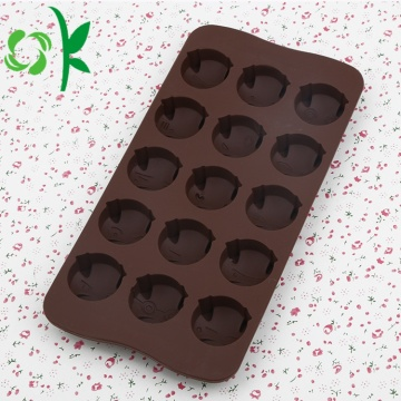 Chocolate Silicone Lattice Pig Popsicl Christmas Candy Molds