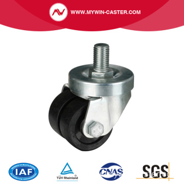 2 Inch 150Kg Threaded Swivel PA Machine Caster