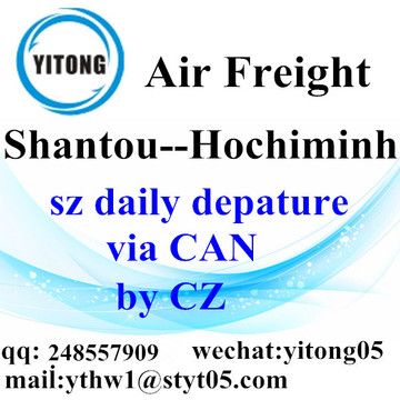 Shantou International Air Freight Forwarding to Hochiminh