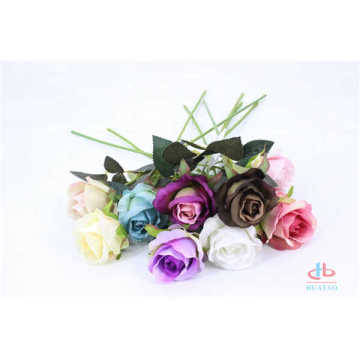 Beautiful artificial rose flowers real touch flower