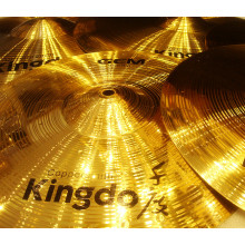 Low MOQ for for H68 Brass Cymbals Brass Handmade Percussion Cymbals export to Greenland Factories