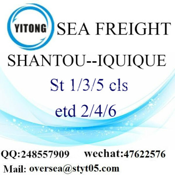 Shantou Port LCL Consolidation To Iquique