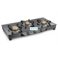 Euro 3 Burner Toughened Glass Cooktop