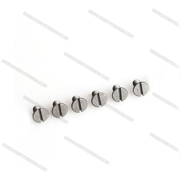 Izinga eliphakeme le-Titanium Colour Button Screws