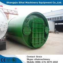 Semi-continuous Waste Plastic to Oil Plant