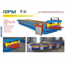 CONTAINER IBR SHEET ROLL FORMING MACHINE