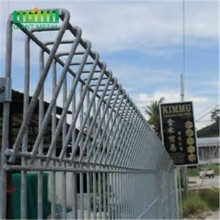 Rolled top brc welded mesh fencing