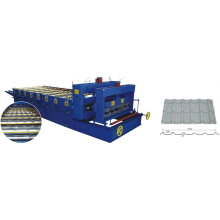 cheap aluminum glazed metal roofing tile cold making machinery
