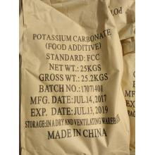 Potassium carbonate K2CO3 Food additive