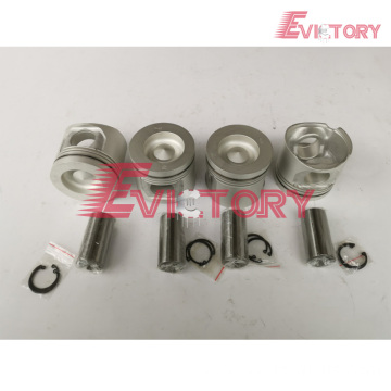 Excavator parts D4E piston connecting rod crankshaft