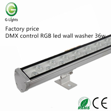 Factory price DMX RGB led wall washer 36w