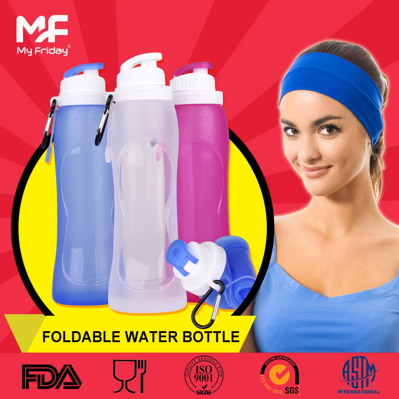 Amazon hot selling collapsible water bottle