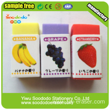 Cheap Promotional Fruit Scented Eraser For Children